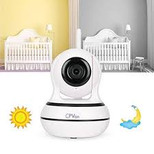 CPVAN WiFi Baby Monitor Camera, Infrared Night Vision, Two-way Audio ...