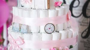 Designer Diaper Cakes How To Make A Diaper Cake Plus 8 You Can Buy Online