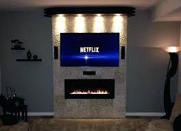 fireplace wall mount tv