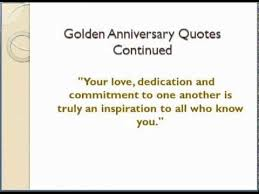 50th Wedding Anniversary Quotes - YouTube