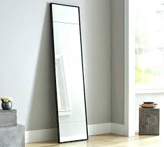 tall standing mirrors. Standing Mirror With Lights Floor Modern Narrow Pottery Barn In Mirrors . Tall