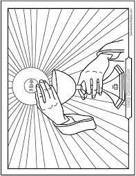 14 Communion Coloring Page Printables
