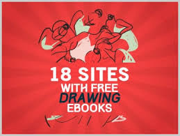 18 sites with free drawing ebooks