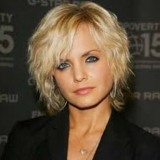 cool and very elegant bob hair with natural fine strands of wavy hair