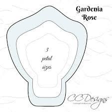 Free Paper Flower Templates Printable Free Paper Rose Template Paper Rose Free Template Free Tutorial Free