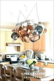 hanging pots and pans from ceiling hanging pots and pans pots and pans rack s pot hanging pots