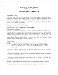 Auto Mechanic Resume Automotive Mechanic Resume Samples Diesel ...