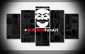 9152 mr robot artwork do poster framed gallery wrap art print home wall decor wall picture on mr robot wall art with 9152 mr robot artwork do poster framed gallery wrap art print home