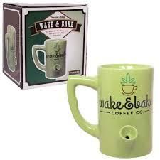 Wake up coffee now in meerut #episode 8. Wake Bake Coffee Mug Streamline For Sale Online Ebay