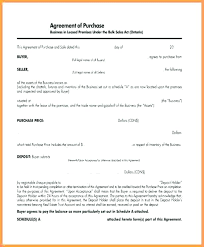 Small Business Investment Agreement Template 6 Purchase Deposit Form