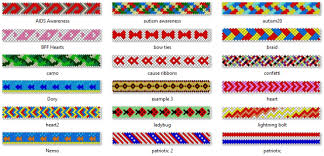 Friendship Bracelet Patterns Best Friendship Bracelet Xanapus` Lair