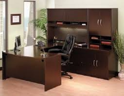 u shaped office desk. Plain Desk Picture Of Bush COR053 U Shaped Office Desk With Hutch And