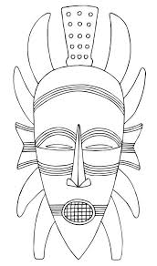 Small Picture 11 Best Photos of African Mask Templates Printable African Mask