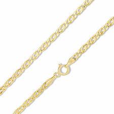 child s 060 gauge bird s eye chain necklace in 10k gold