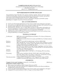 Desktop Support Specialist Resume Camelotarticles Com
