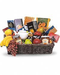 grande gourmet fruit basket gift basket