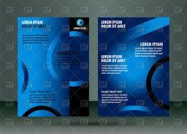 leaflet template design vector image rfclipart leaflet template design click to zoom