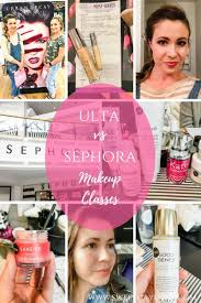 post collage this post highlights the pros and cons of ulta and sephora makeup cles