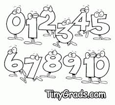 Small Picture Coloring Pages About Numbers Coloring Pages