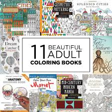 11 Beautiful Adult Coloring Books Coloring Date Night
