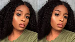quick neutral everyday makeup for brown skin