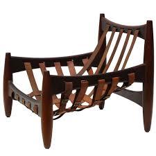 sergio rodrigues midcentury rosewood mole sheriff chair brazil circa 1962
