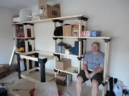 garage shelving ideas or diy