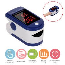 <b>2pcs Digital Fingertip Pulse Oximeter</b> Blood Oxygen Sensor ...