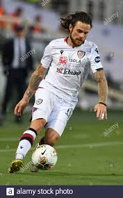 Nahitan Nandez of Cagliari Calcio in action during ACF Fiorentina vs  Cagliari, Florence, Italy, 08 Jul 2020 Stock Photo - Alamy