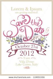 save the date template free download save date invitation template vectorillustration stock photo photo