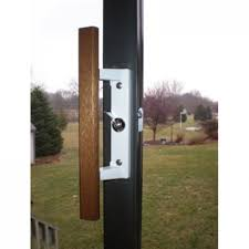 sliding patio door locks handles