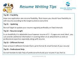 Resume Preparation Tips Free Resume Templates 2018