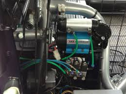 electrical landy travels arb compressor and airline connector