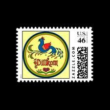 best pennsylvania dutch artwork images hex sign welcome bird postage