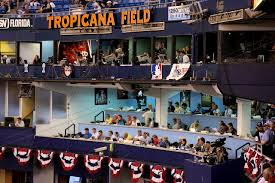 Tropicana Field Seating Chart View Tampa Bay Rays Press Level Raysseatingchart Com