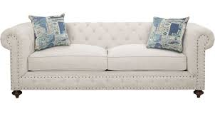 Off white sofa Leather Couch Knightsbridge Ivory offwhite Sofa Classic Transitional Chenille Furniturecom 95500 Knightsbridge Ivory offwhite Sofa Classic