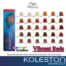 Wella Koleston Color Chart Vibrant Reds Bedowntowndaytona Com