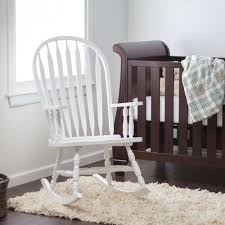 white wooden rocking chair. Wooden Rocking Chair For Nursery Unique Amazon Windsor Baby White