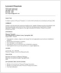 Occupational Therapy Resume Template Occupational Therapy Resume Template Image Gallery Of Attractive 48