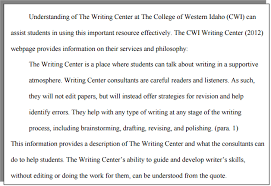 How Do I Format A Block Quote With APA Formatting CWI Enchanting Apa Quote Format
