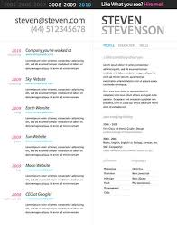 Creative And Professional Psd Resume Template Top Resume Templates