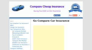 go compare car insurance quotes uk raipurnews