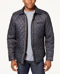 Tasso Elba Men's Quilted Jacket, Created for Macy's - Coats ... & Tasso Elba Men's Quilted Jacket, Created for Macy's Adamdwight.com