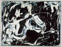 black untitled willem de kooning work of art  black untitled