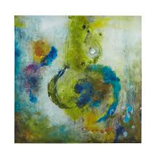 green blue purple abstract canvas wall art add  on purple and green canvas wall art with blue gold abstract wave wall art set of 3