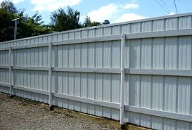 sheet metal fence designs corrugated fence panels corrugated