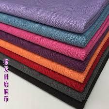 2019 Plain Color <b>Thickening</b> Fluid <b>Quality Sofa Linen Fabric</b> Solid ...