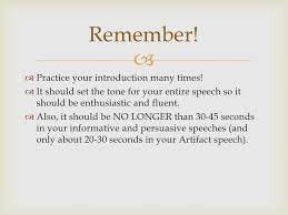 speech writing introduction and conclusion 10 remember  practice your introduction