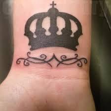 тату корона тату нанесена на запястье одним сеансом был Flickr