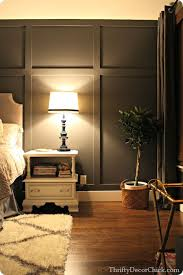 How to Create a Board and Batten Accent Wall | Batten, Dark grey and Master  bedroom